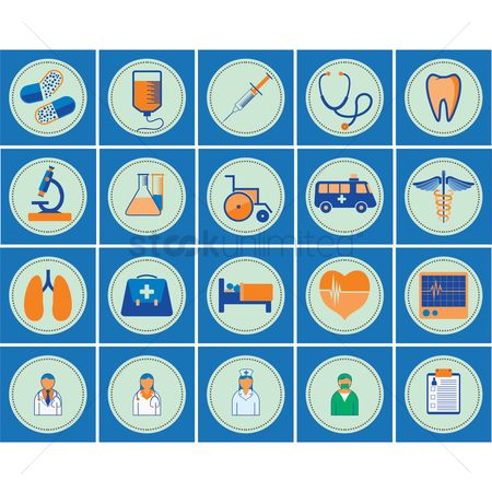 Medicines : Medical icon set