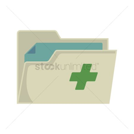 Portfolio : Medical report icon