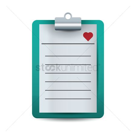Medicines : Medical report on clip board