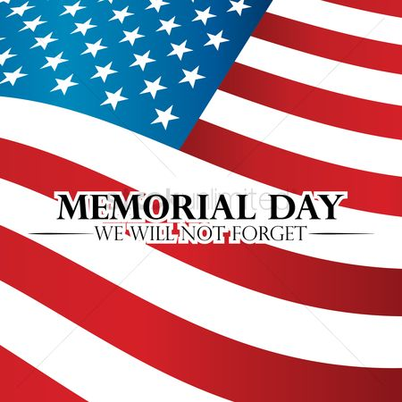 Patriotics : Memorial day background