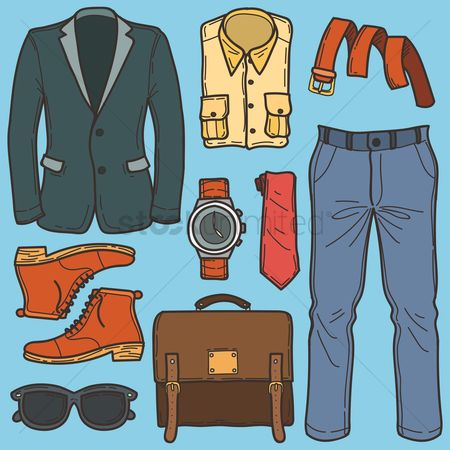Accessories : Men fashion set