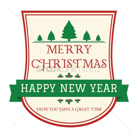 1797306 classic banner merry christmas and happy new year