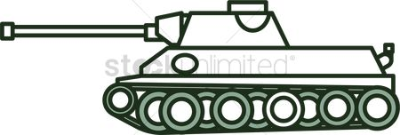 Tanks : Military tank icon