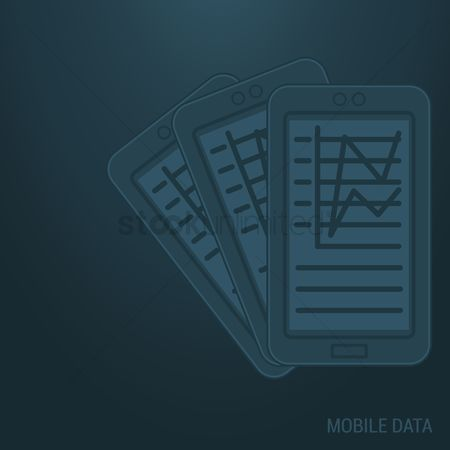 Motivation business : Mobile data background