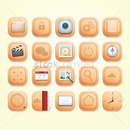 Power button : Mobile icons
