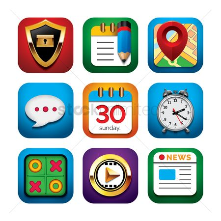 Icons news : Mobile icons