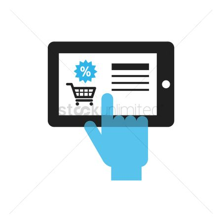 Online shopping : Mobile shopping