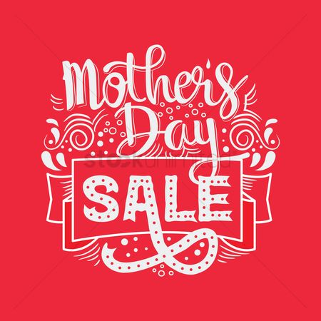 Shopping background : Mothers day sale