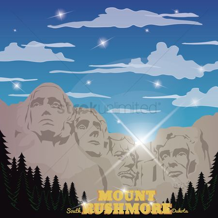 Dakota : Mount rushmore national memorial