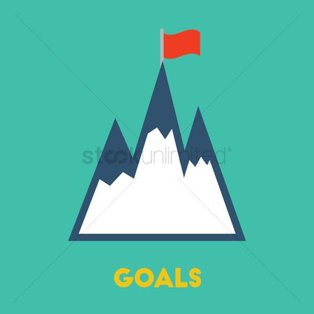 Achievement : Mountain with flag