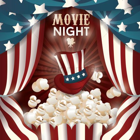 America : Movie night design