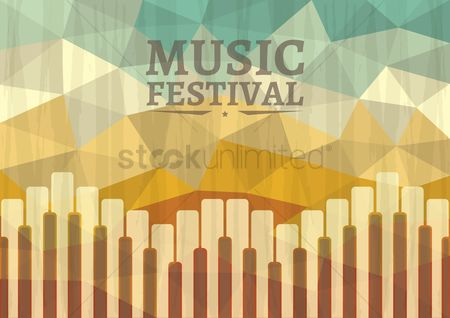 Melody : Music festival poster design