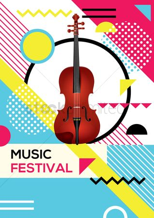 Commercials : Music festival poster design