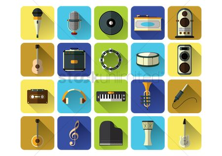 Stringed : Music icons
