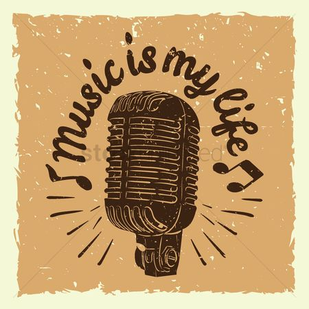 Broadcasting : Music is my life
