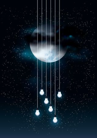 Moon : Music poster design