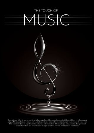 Copy spaces : Music poster