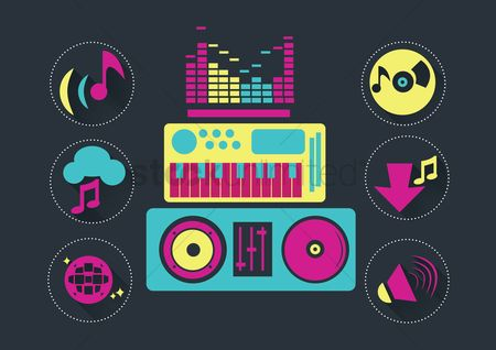 Audio : Musical icons