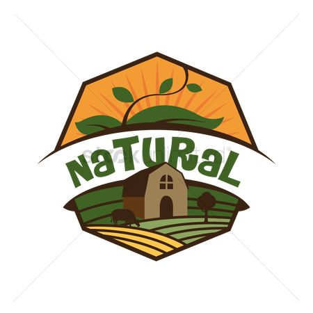 Products : Natural product label design