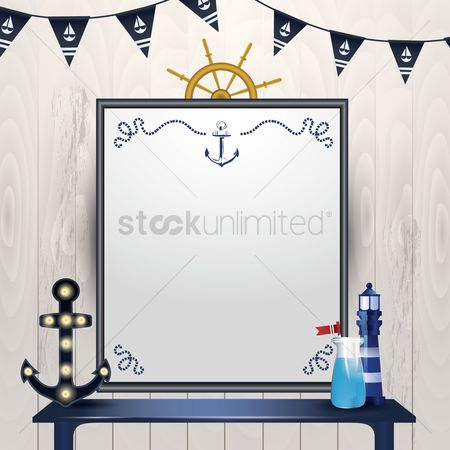 Lighthouses : Nautical board design