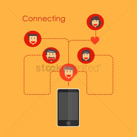 Call : Networking through smartphone