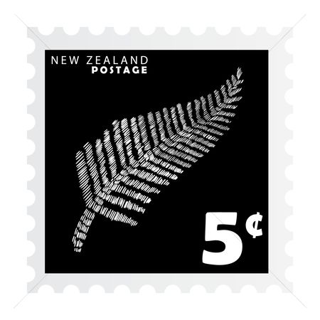 Silver : New zealand postage stamp design