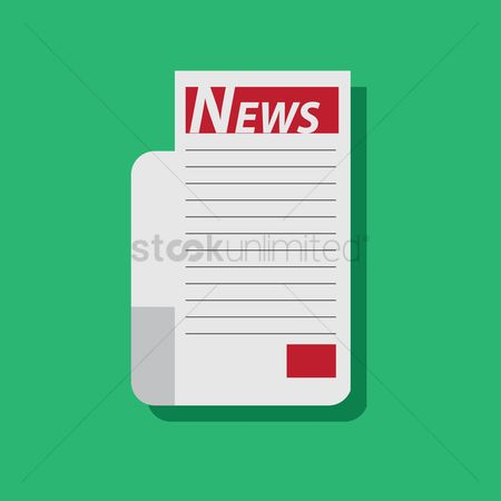 Icons news : News on a letter