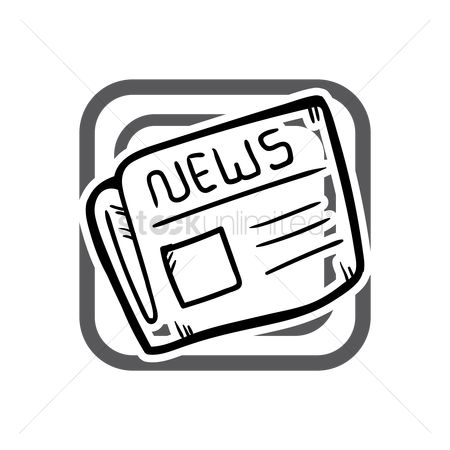 Icons news : News paper icon