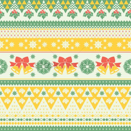 Jingle bells : Nordic patterns