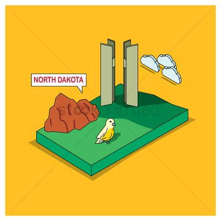 Dakota : North dakota state
