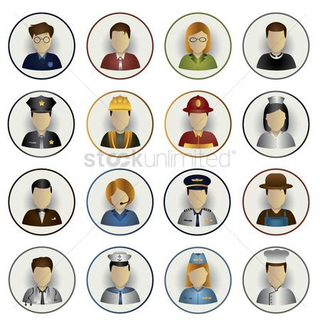 Hospital : Occupation icons
