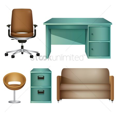 Handles : Office furniture