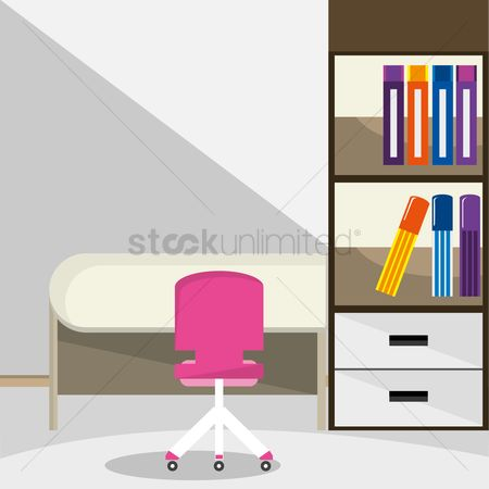 Indoor : Office room