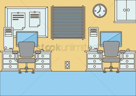 Wall : Office room