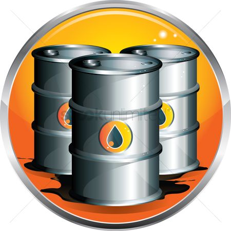 Petroleum : Oil drums