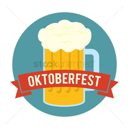 Pub : Oktoberfest label design