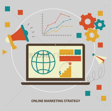 Work : Online marketing strategy