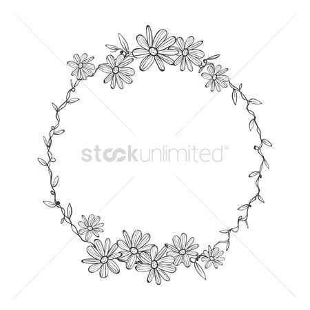 Budding : Ornamental frame