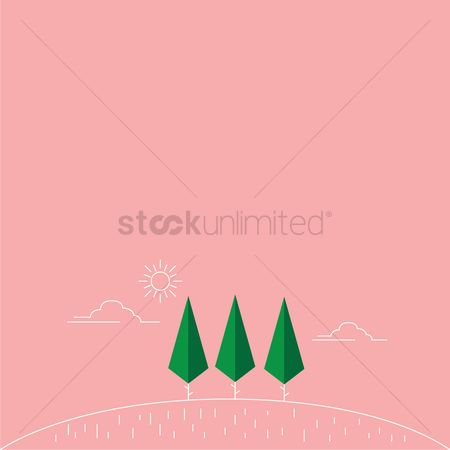 Minimalist : Outdoors with pink background