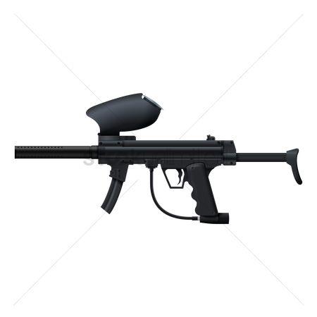 Recreation : Paintball gun