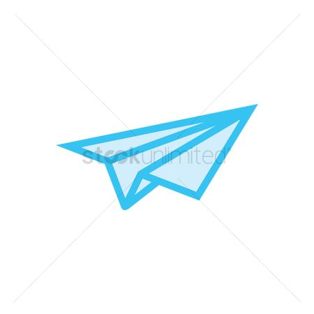 Journeys : Paper plane icon