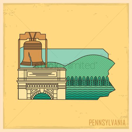Arch : Pennsylvania state map