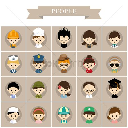 Hospital : People icons