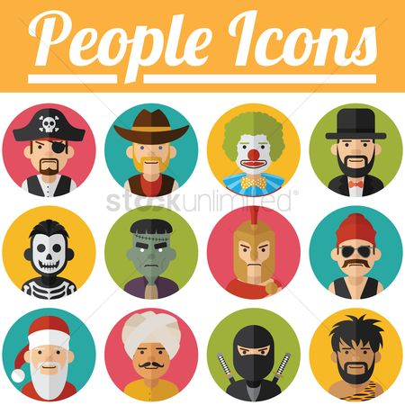 Santa : People icons