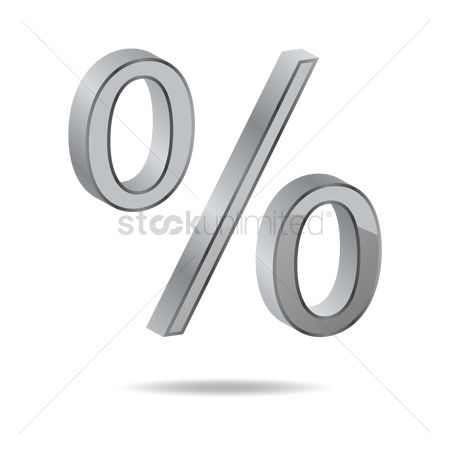 Calculations : Percent sign