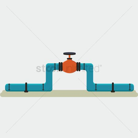 Petroleum : Pipe valve
