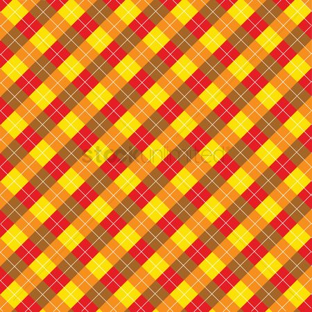 Cloth : Plaid pattern background