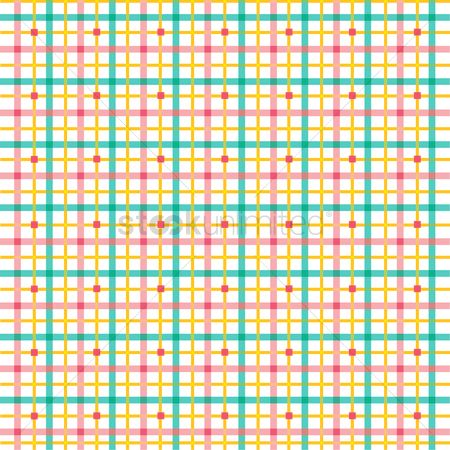 Cloth : Plaid pattern
