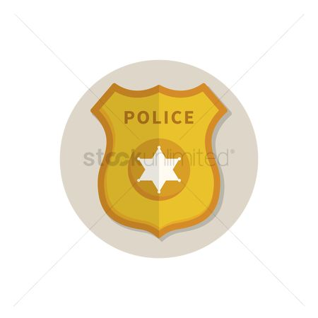 Authority : Police badge