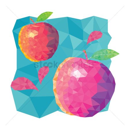 Apple : Polygonal fruit